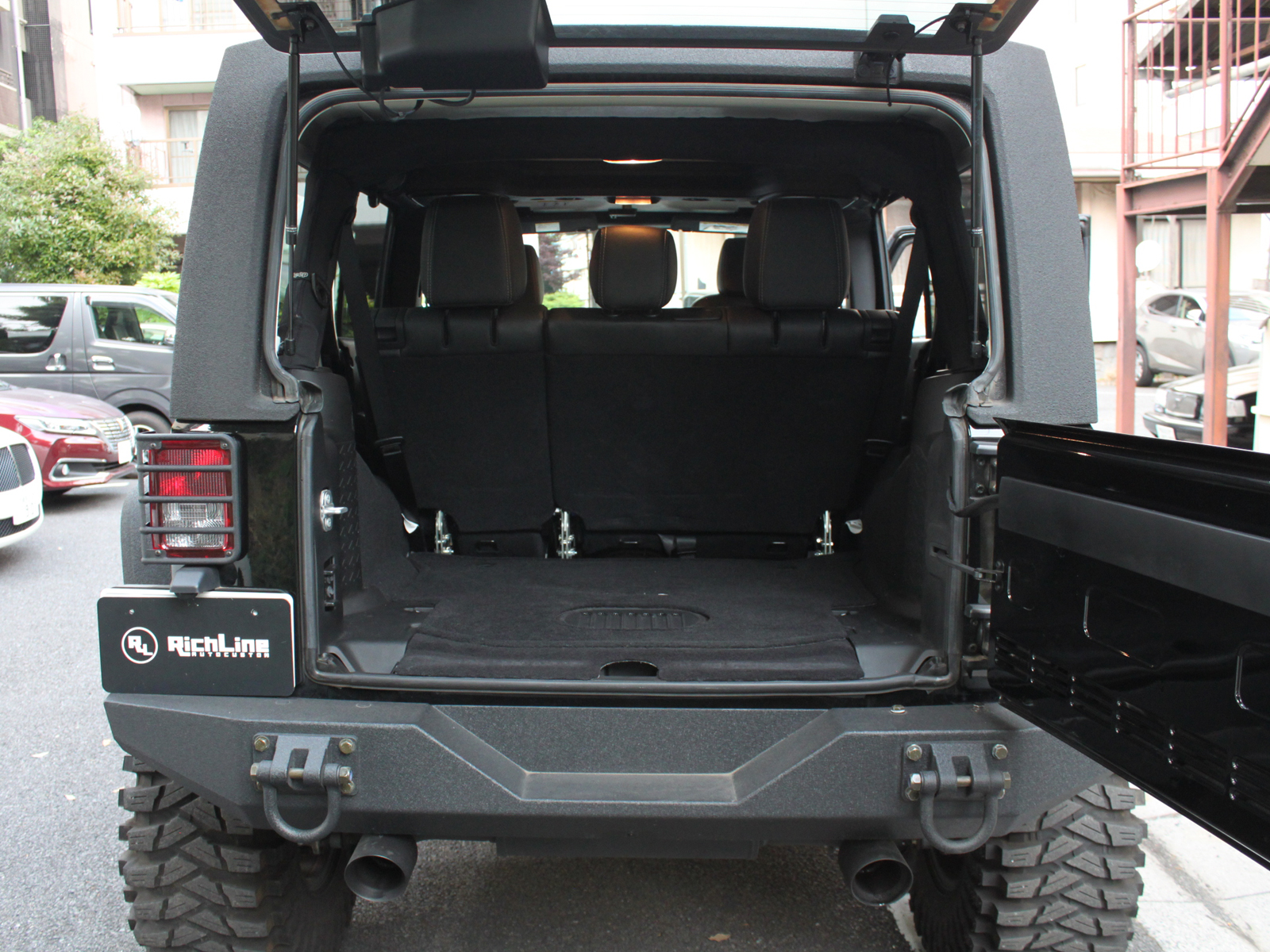 Wrangler Unlimited Rubicon Xリッチライン