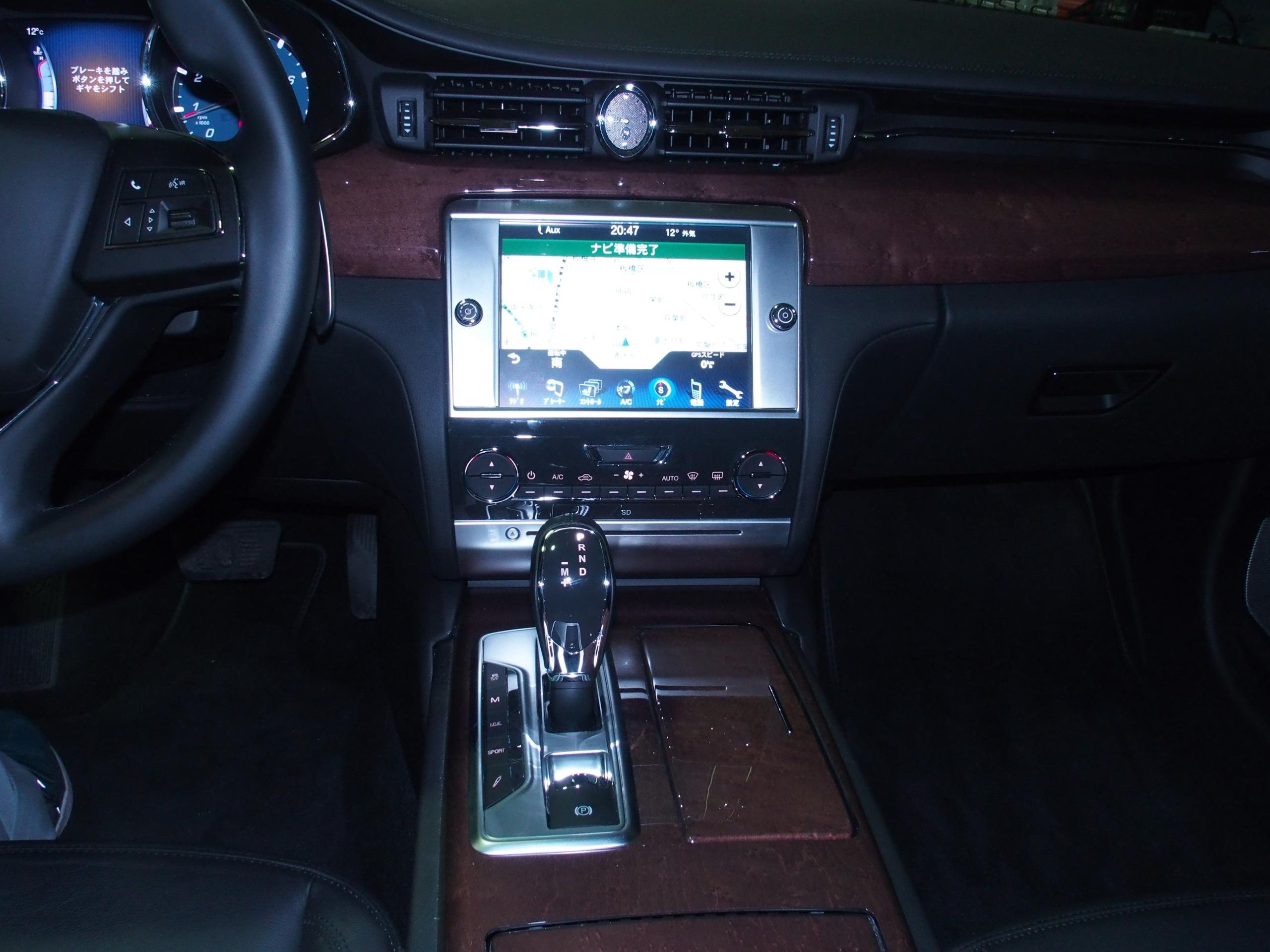 Quattroporte GT Sリッチライン