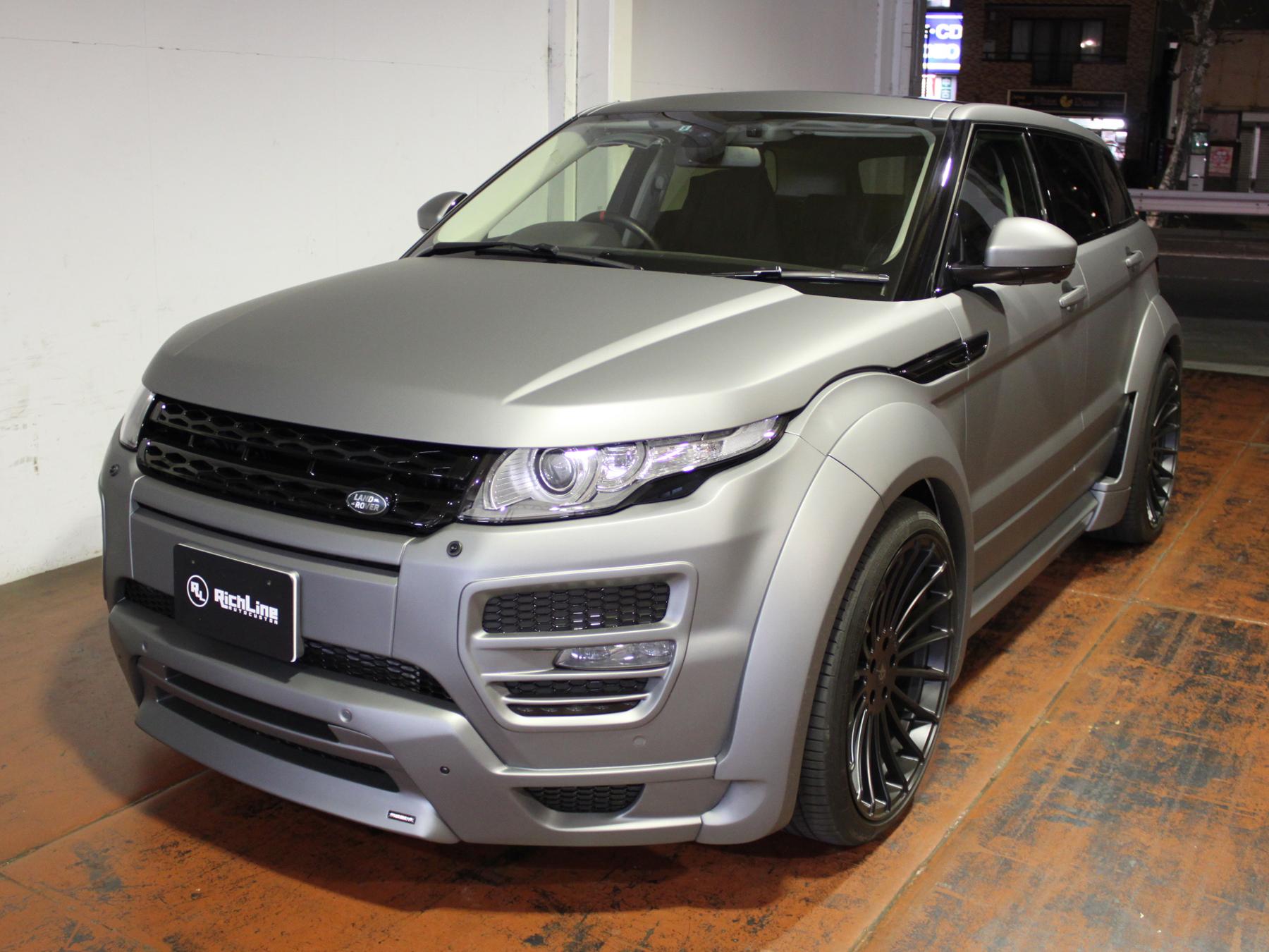Range Rover Evoqueリッチライン