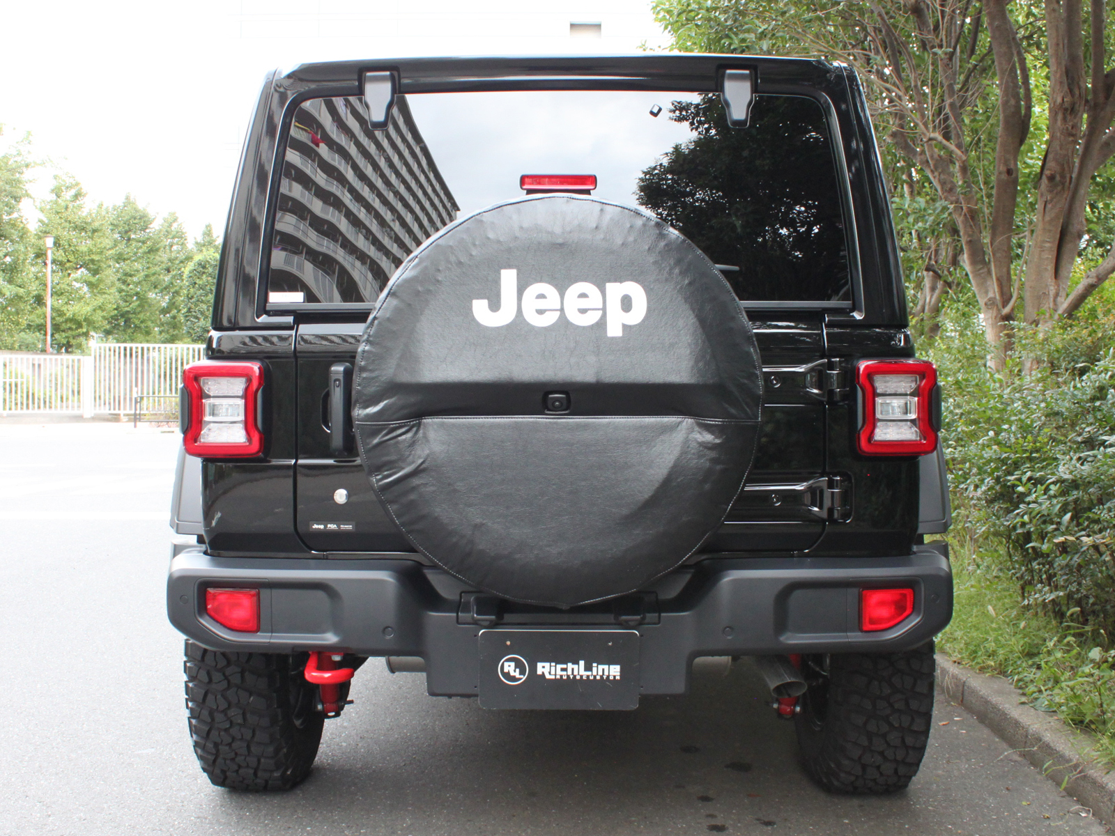 Wrangler Unlimited Rubicon Sky One-Touch Power Topリッチライン