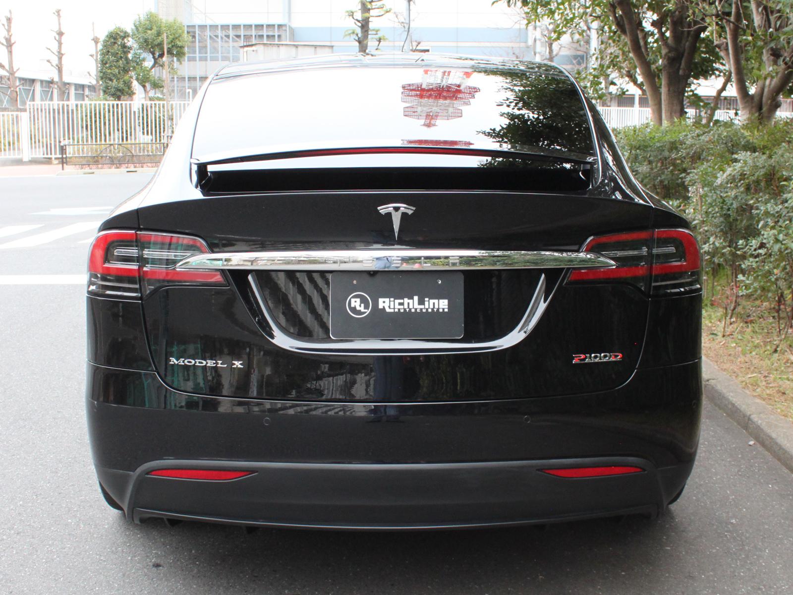 Model X P100Dリッチライン