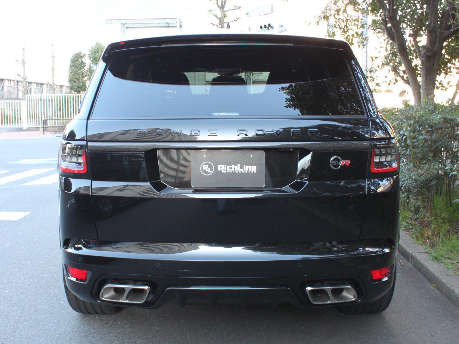 Range Rover Sport SVRリッチライン